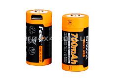 Аккумулятор 16340 Fenix 700 mAh Li-ion micro usb зарядка