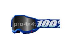 Очки 100% STRATA 2 Sand Goggle Blue - Smoke Lens
