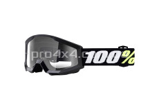 Очки детские 100% Strata Mini Black/Clear Lens