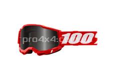 Очки 100% STRATA 2 Sand Goggle Red - Smoke Lens